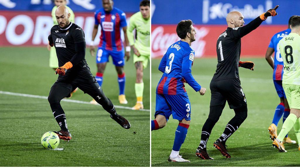Dmitrovic hace historia en LaLiga y marca un gol de penalti a Oblak