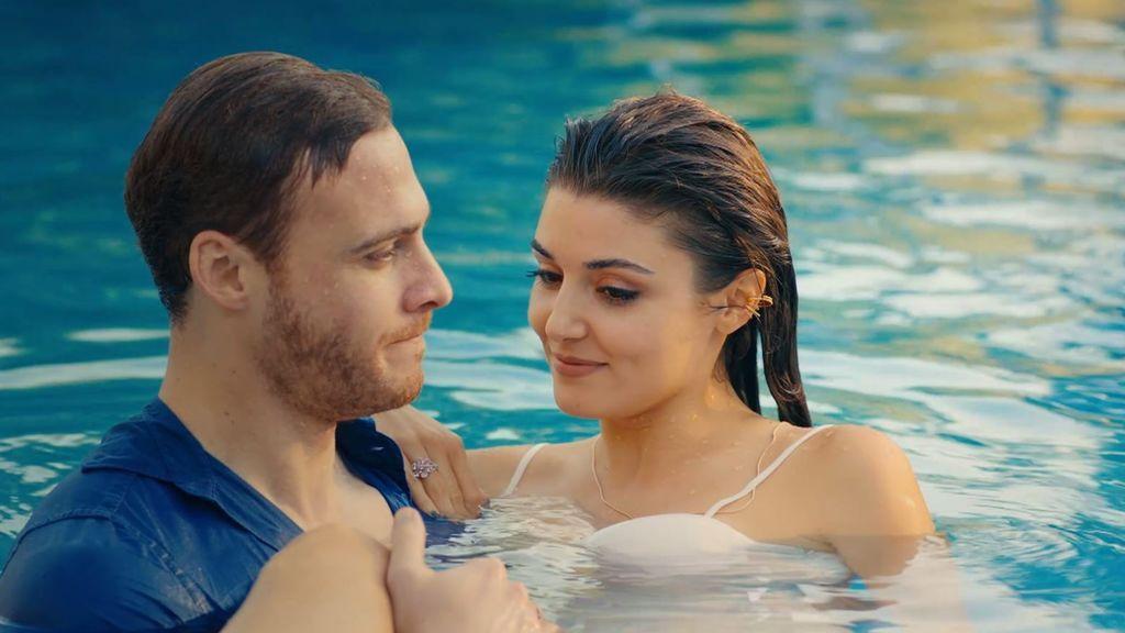 Serkan se lanza a la piscina para rescatar a Eda