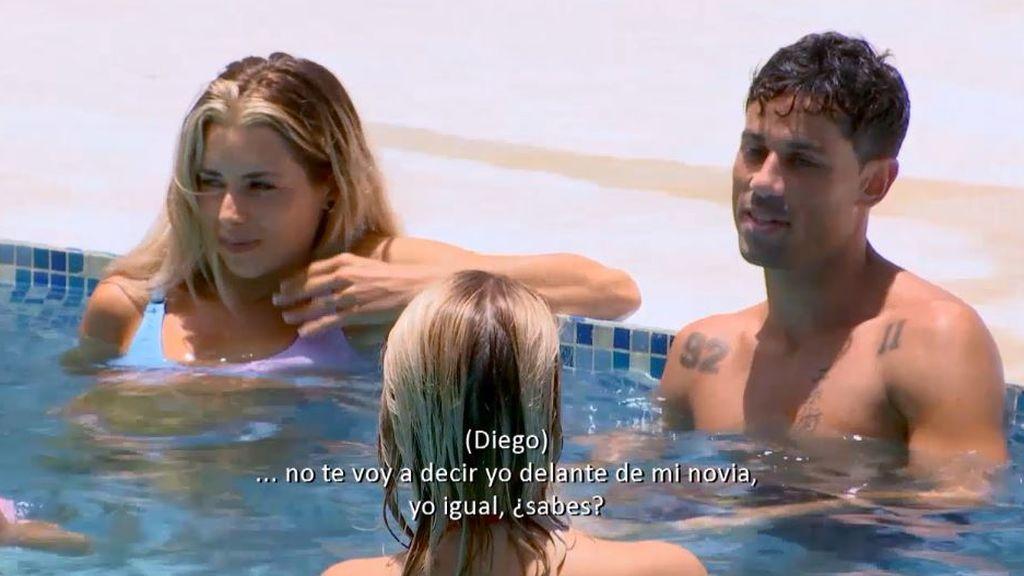 Imagen de Diego, de 'La isla de las tentaciones 3', con las solteras
