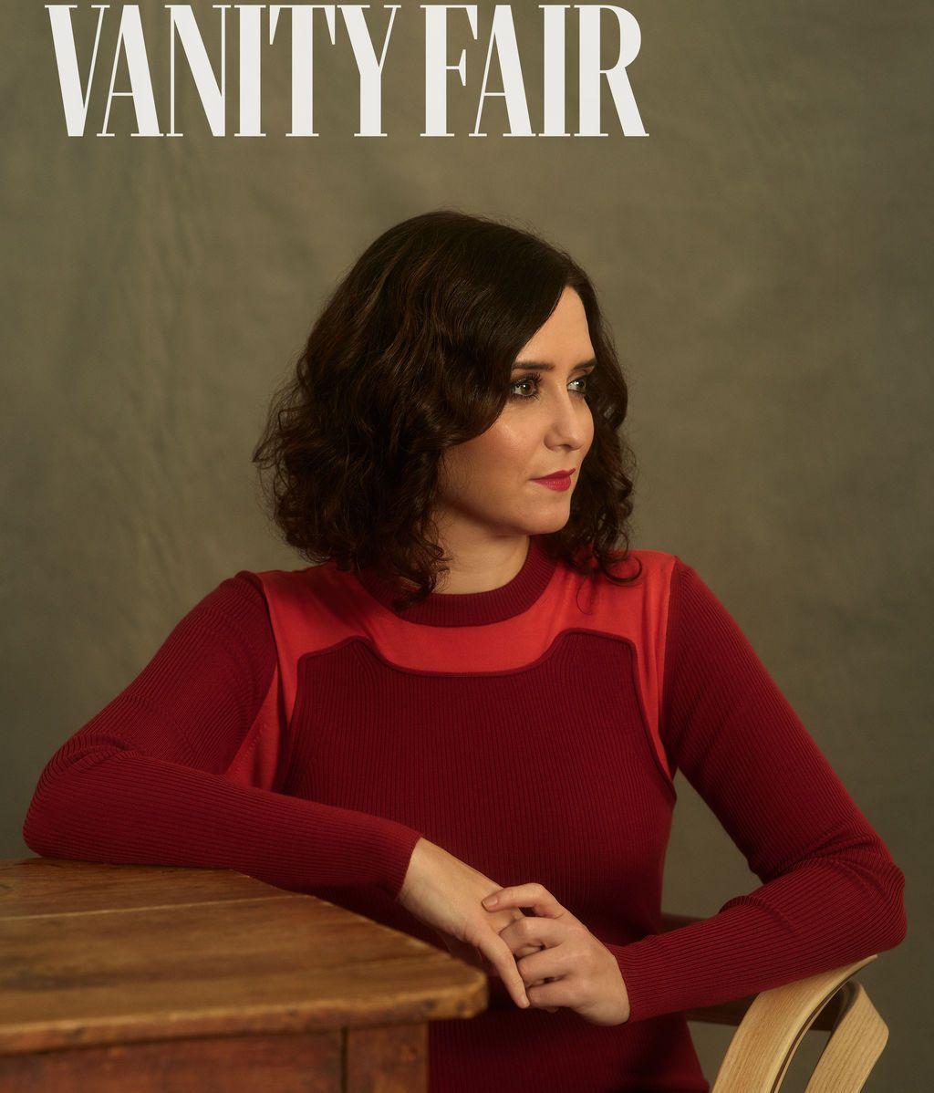 Posado de Ayuso en Vanity Fair