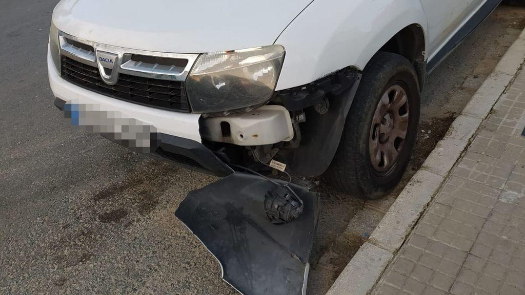Le destrozan el coche por tercera vez