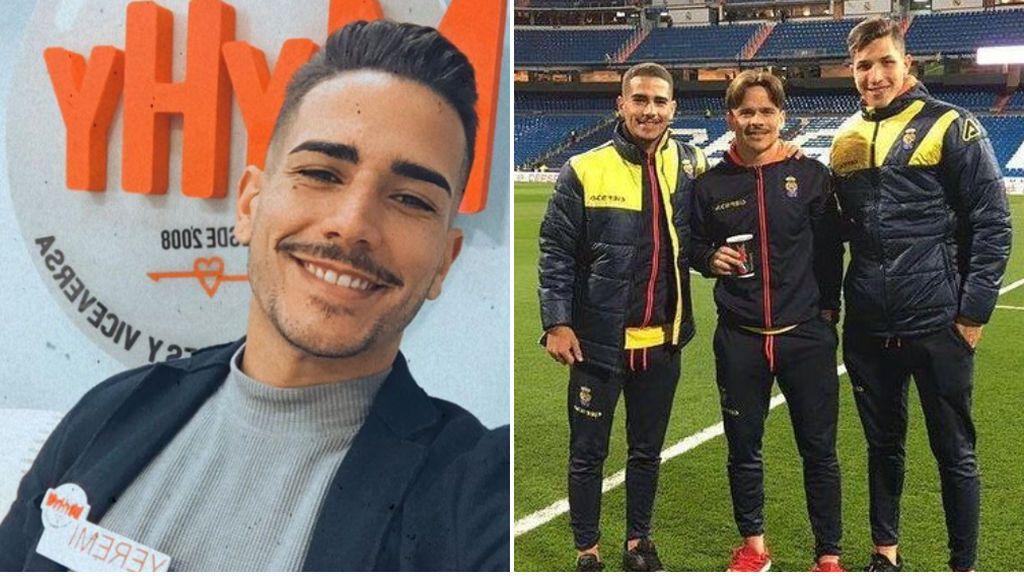 De jugar con Las Palmas en el Santiago Bernabéu, a ser pretendiente en 'MyHyV': así es Yeremi Valerón