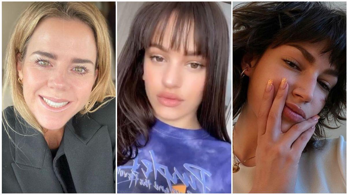 Amelia Bono y otras celebrities que se han atrevido a cortarse el pelo en casa: así ha quedado su melena tras pasar por las tijeras.