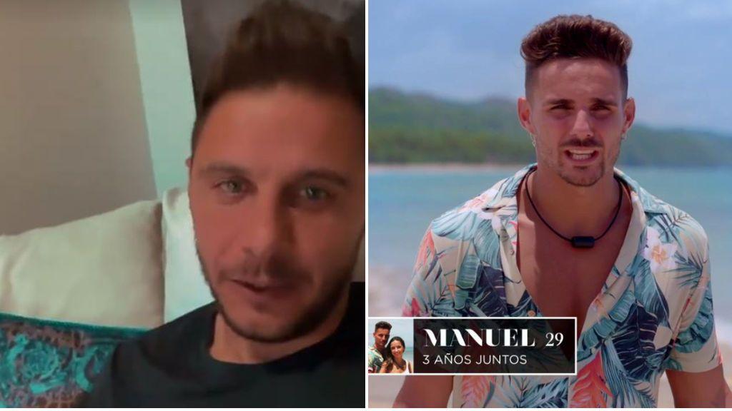 """El show de Joaquín Sánchez con la vuelta de 'La Isla de las Tentaciones': """"Manuel, sales más que el cupón de la ONCE"""""""