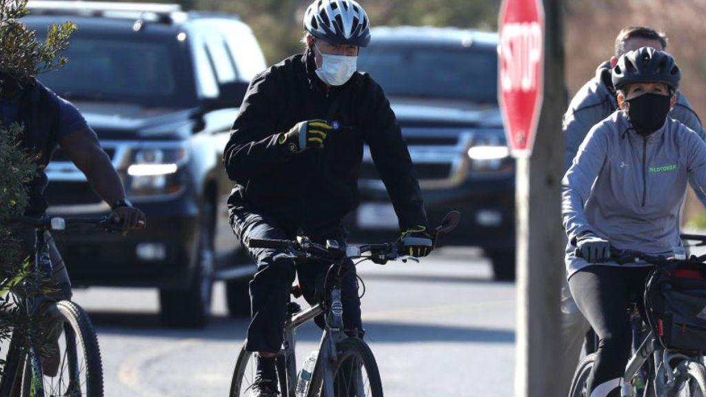 """Joe Biden no podrá llevar su bicicleta estática a la Casa Blanca porque """"pone en riesgo la seguridad nacional"""""""