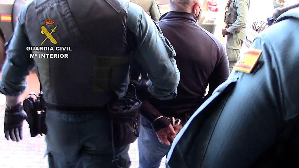 Uno de los detenidos en la operación `Vinculada´