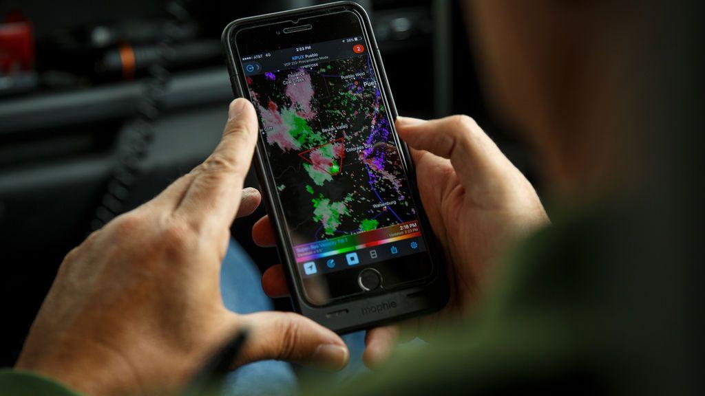 Un radar de lluvias en el móvil: las mejores apps para que las borrascas no sorprendan sin paraguas