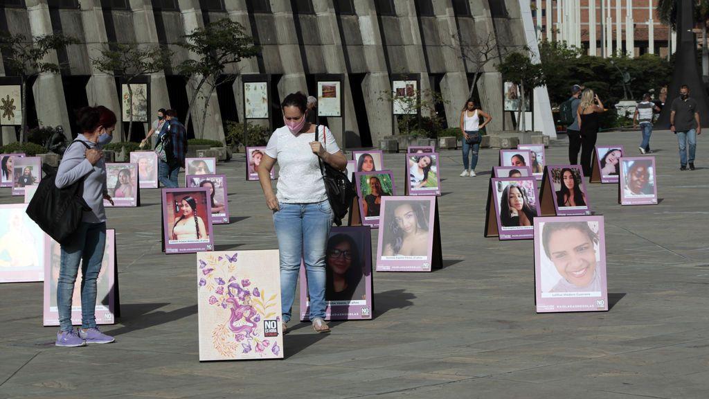 """Los feminicidios en Colombia, un problema de """"salud pública"""" con más muertas que días este 2021"""