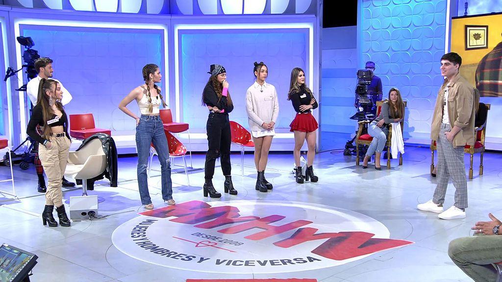 El ranking de las chicas de Julen Mujeres y Hombres y Viceversa 3016-3066 Progr. 3.048