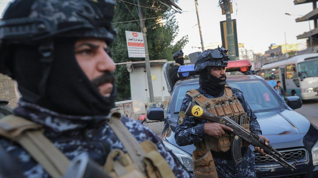 Casi una treintena de muertos en un doble atentado suicida en un mercado de Bagdad