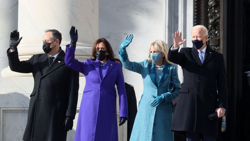 Biden y Harris hacen historia en la ceremonia inaugural