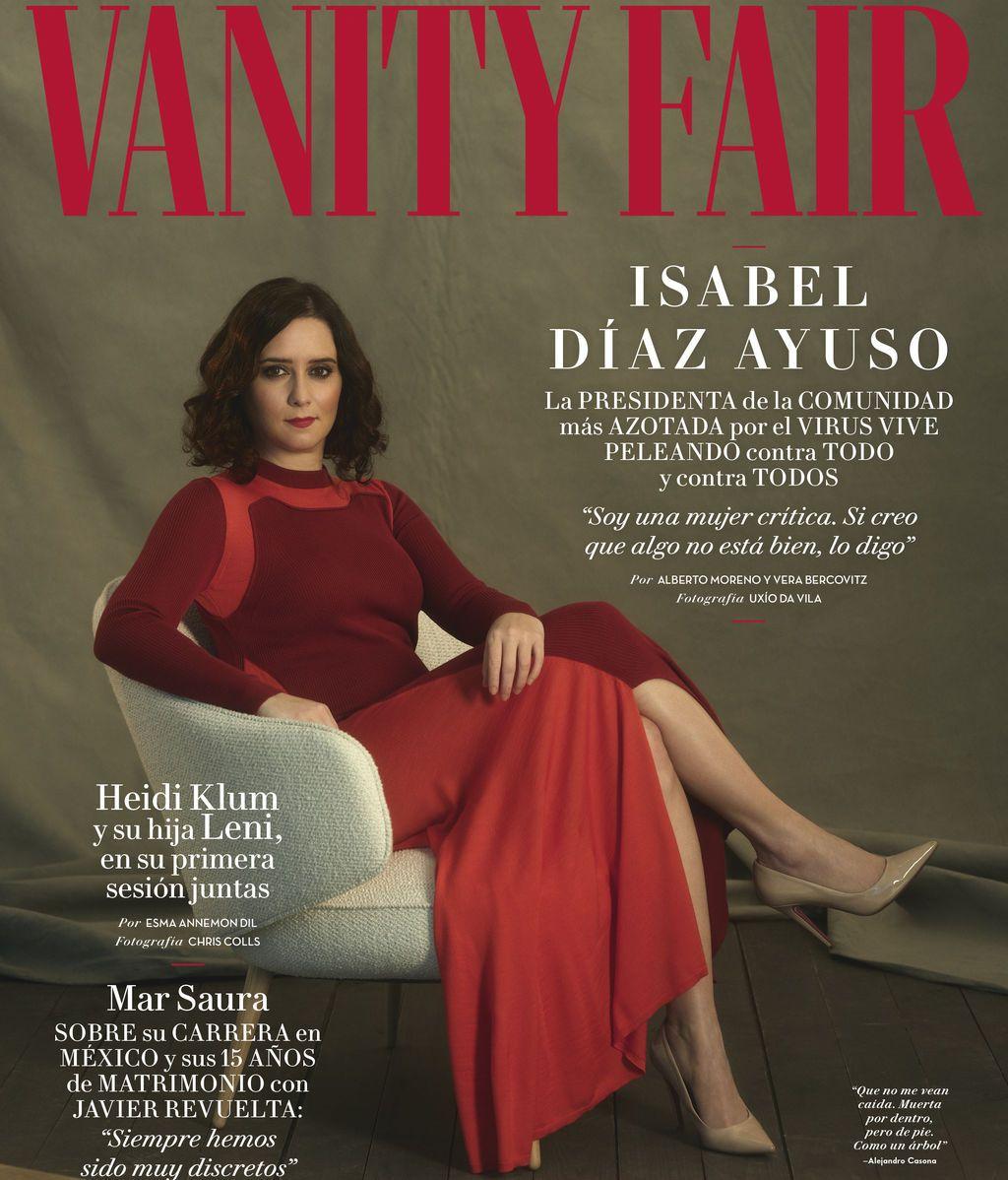 Isabel Díaz Ayuso, portada de Vanity Fair