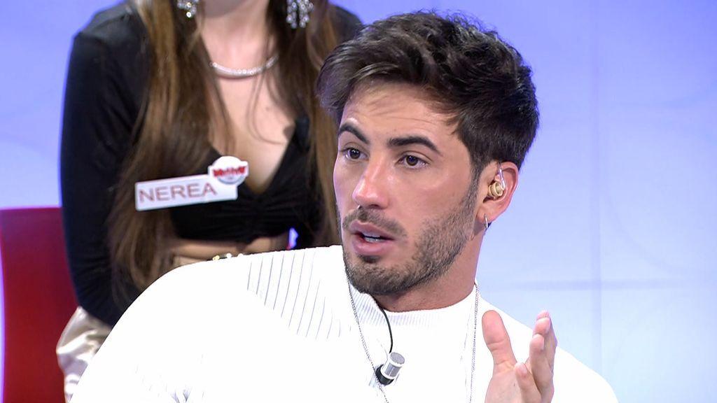 Iván González asegura que Mayka estuvo con Courtois
