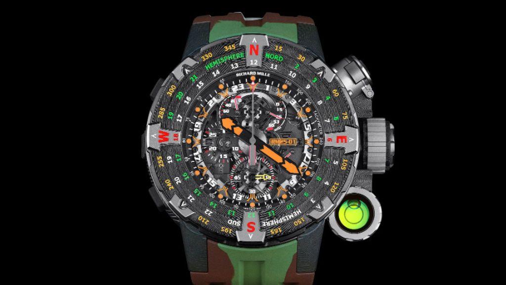 Richard Mille y Stallone colaboaron para crear el reloj de Rambo