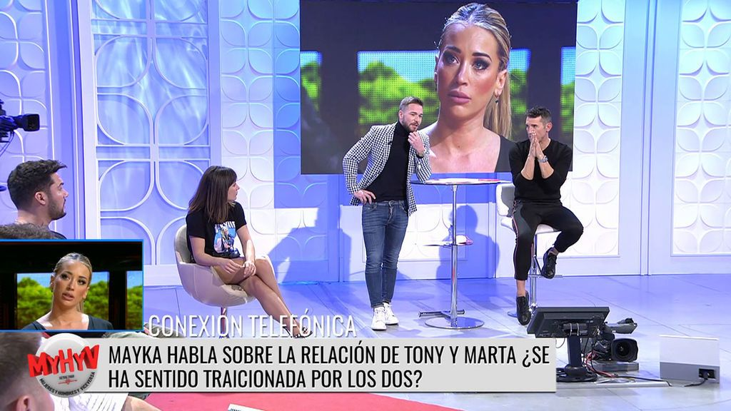 Mayka rompe su silencio sobre su ruptura con Tony Spina Mujeres y Hombres y Viceversa 3016-3066 Progr. 3.049
