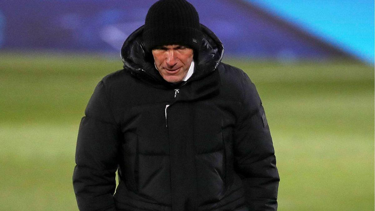 Zidane da positivo en covid-19 y no estará en el partido ante el Alavés