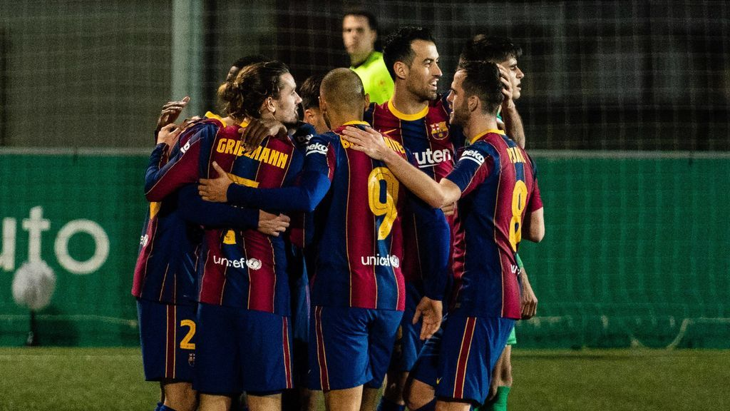 El Barcelona se clasificó tras eliminar al Cornellá.
