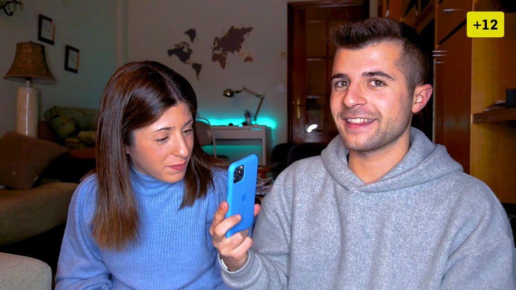 Iban García presenta a su hermana Nagore y saca el álbum de su infancia (2/2)