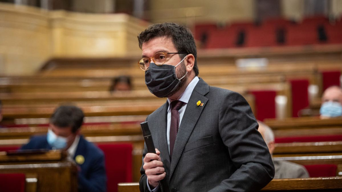 """Aragonès pide votar por correo tras la decisión del TSJC: """"Que ningún voto independentista se quede en casa"""""""