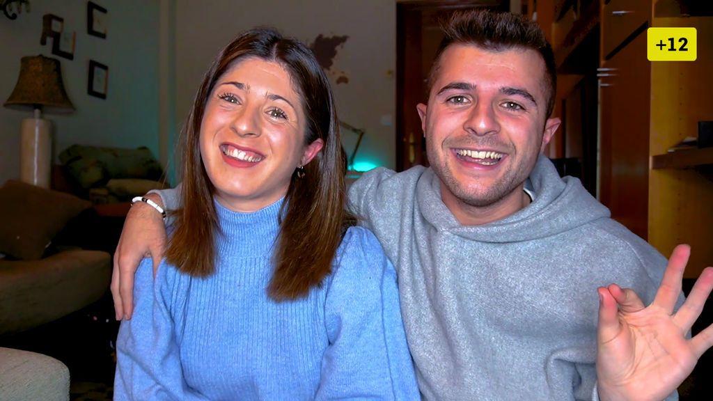 Iban García presenta a su hermana Nagore y saca el álbum de su infancia (1/2)