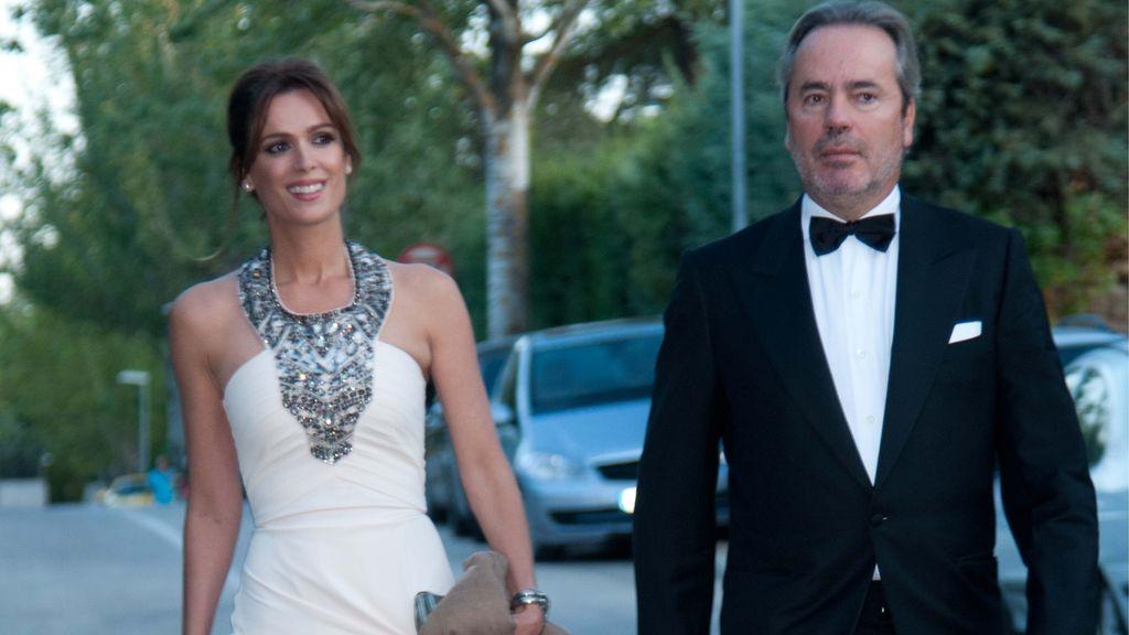Mar Saura con su marido, Javier Revuelta (2016)
