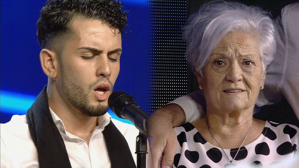 La emotiva actuación de Cristian Montilla dedicada a su abuela