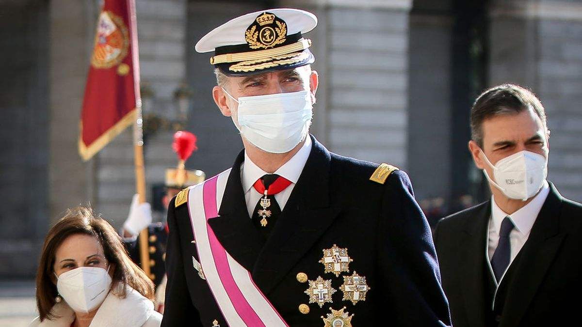 Compromís pregunta en el Congreso si Felipe VI ya se ha vacunado