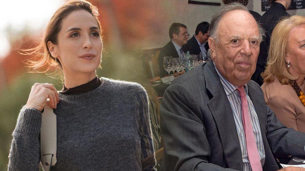 Tamara Falcó recuerda a su padre
