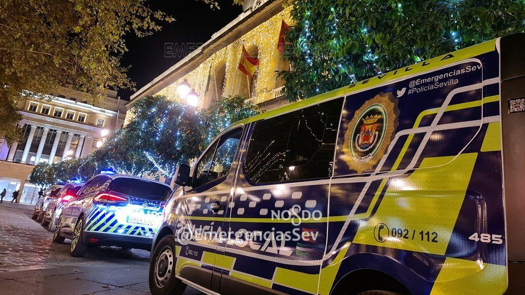 Detenido en Sevilla: sin carnet, con una furgoneta robada y sextuplicando la tasa de alcohol