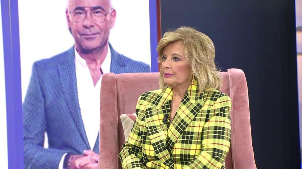 """María Teresa Campos recuerda su enfrentamiento con Jorge Javier Vázquez: """"No tengo que pedirle perdón"""""""