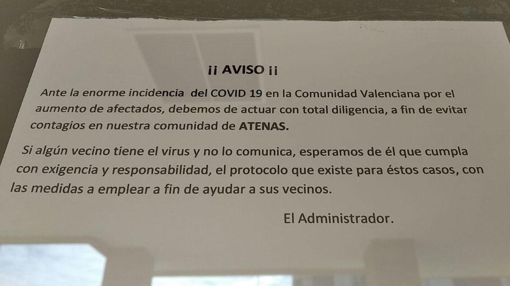 Una enfermera de Alicante lamenta la falta de empatía de sus vecinos tras contagiarse de coronavirus