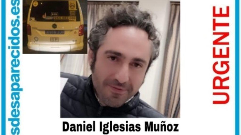 Piden ayuda para localizar a Daniel Iglesias, un taxista desaparecido en Sevilla desde hace 10 días