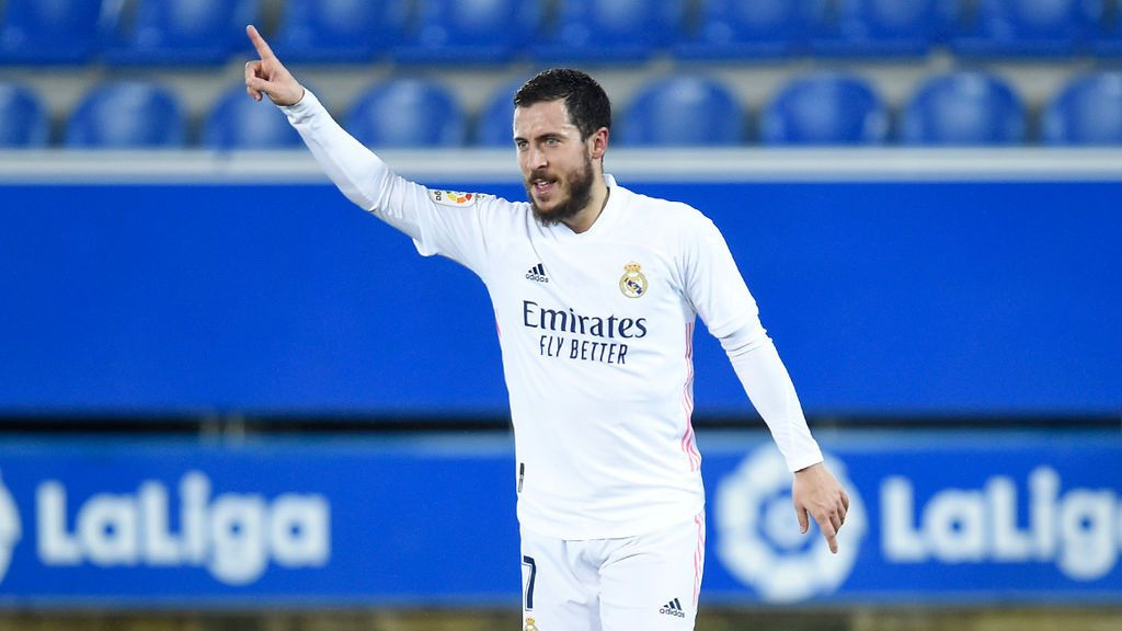 El Madrid y Hazard despiertan en Mendizorroza y ganan al Alavés (1-4)