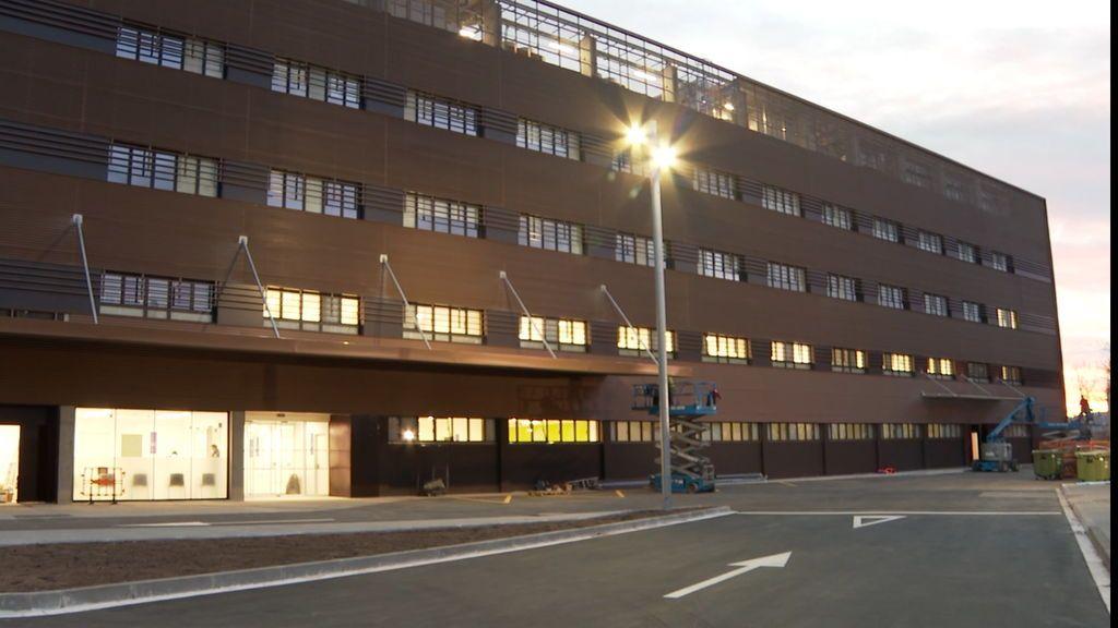El primer centro satélite para reforzar a los hospitales catalanes abre el lunes