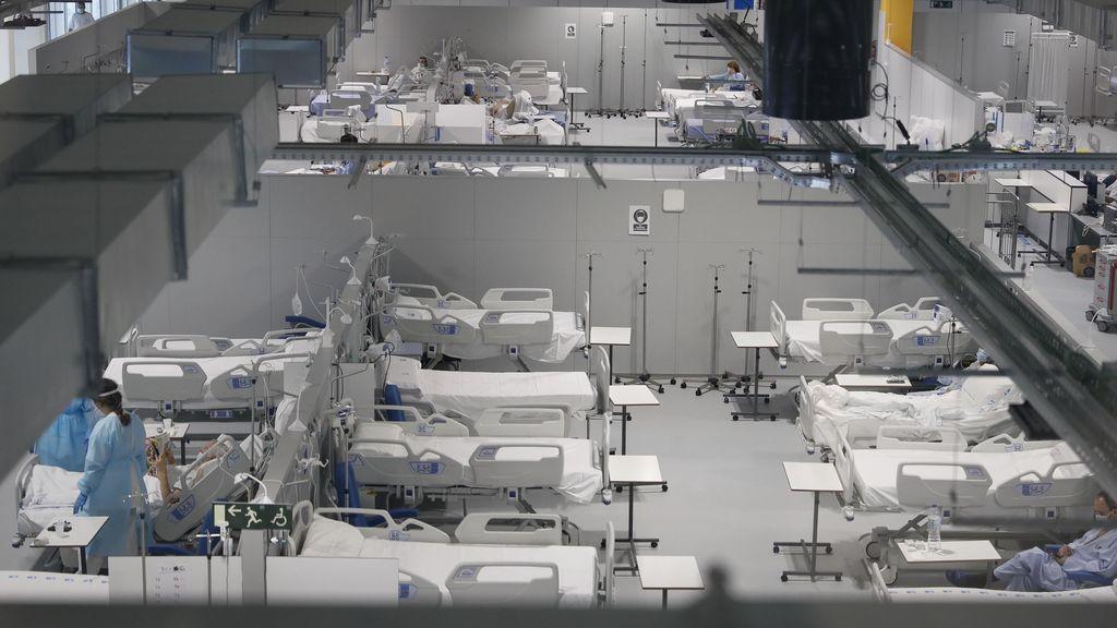 Vista del hospital Isabel Zendal