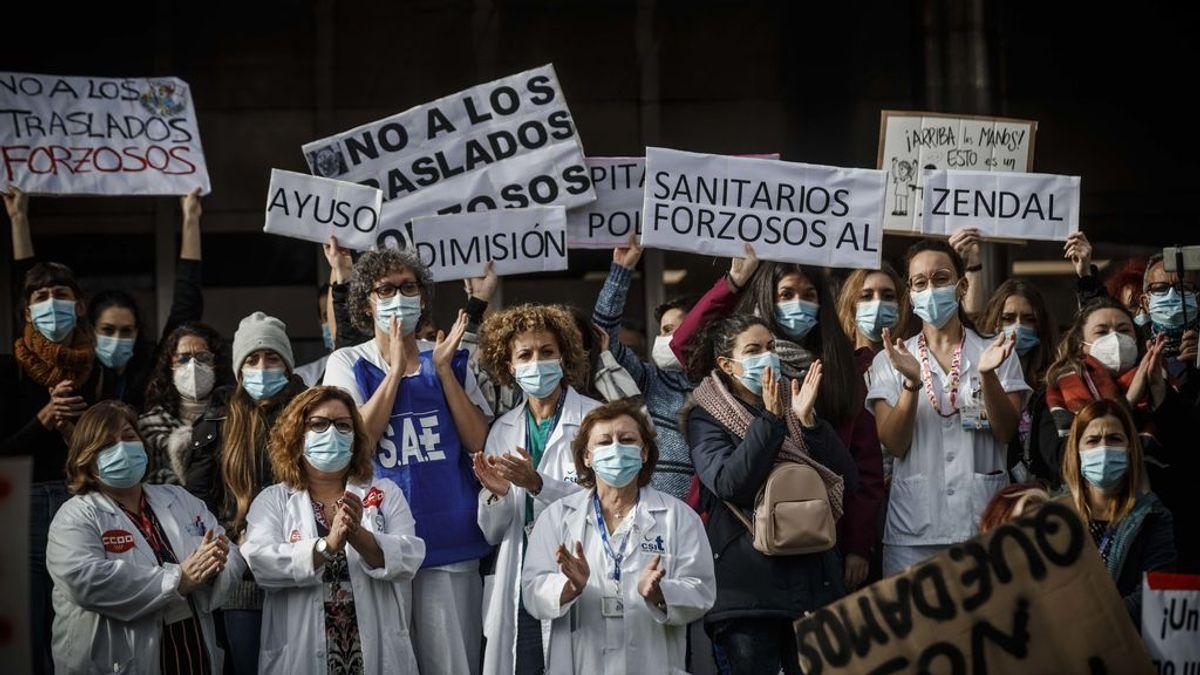 """La Asociación para la Defensa de la Sanidad Pública alerta de la situación """"crítica"""" de los hospitales en Madrid"""