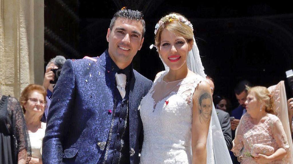 """La viuda de Reyes recuerda el día de su boda: """"Siguiendo tus consejos"""""""