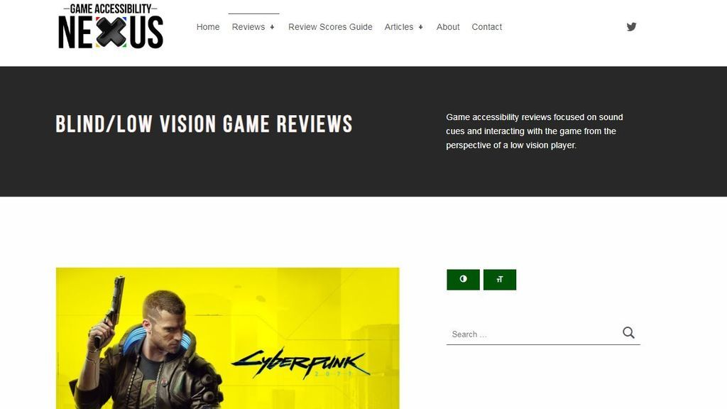 Games Accessibility Nexus
