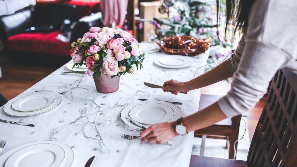 Menaje de lujo para enseñar en cenas con amigos