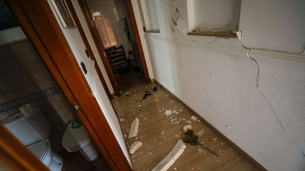 Destrozos por el terremoto de Granada