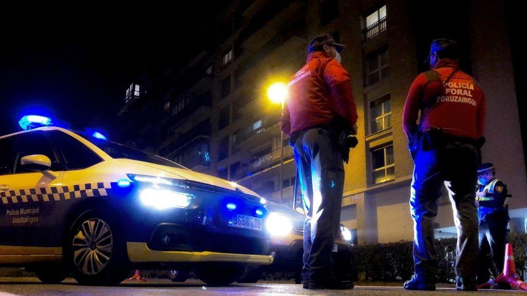 Denunciadas 27 personas en seis fiestas ilegales celebradas en domicilios particulares de Pamplona