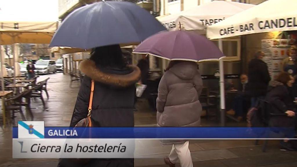 Cierra la hostelería en Galicia