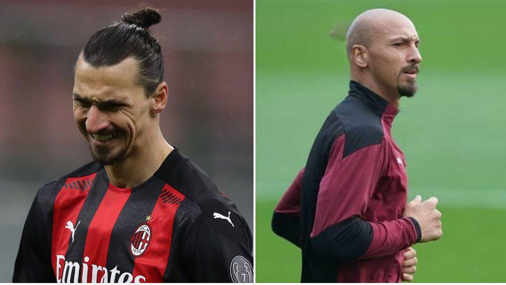 "Zlatan Ibrahimovic sorprende a sus seguidores rapándose la cabeza: ""Con todo"""