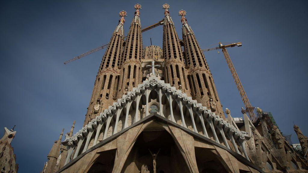 Las obras de la Sagrada Familia se reanudan tras diez meses paradas por la pandemia