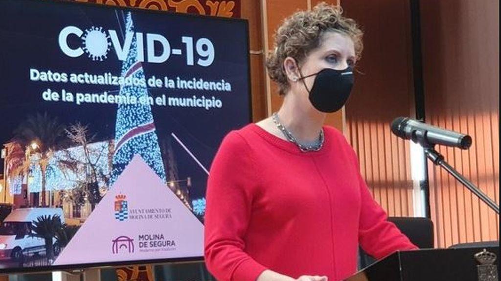 La alcaldesa de Molina de Segura dimite por vacunarse contra el covid saltándose el protocolo