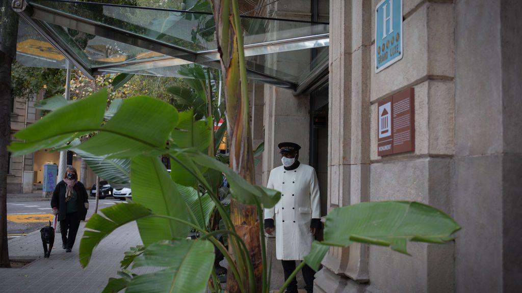 Exterior hotel en Barcelona