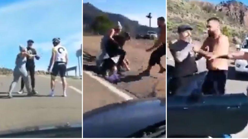 "Un conductor agrede brutalmente a un ciclista en Gran Canaria: ""Lo va a matar, lo va a matar"""