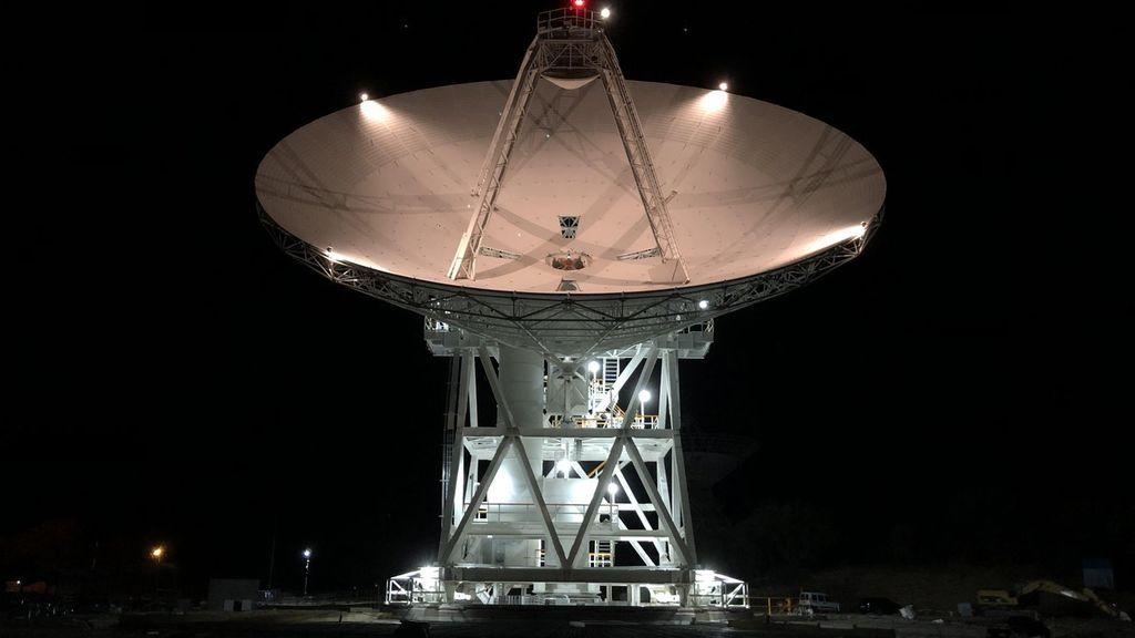 Madrid estrena una antena de 34 metros de la NASA que se comunicará con las misiones a Marte