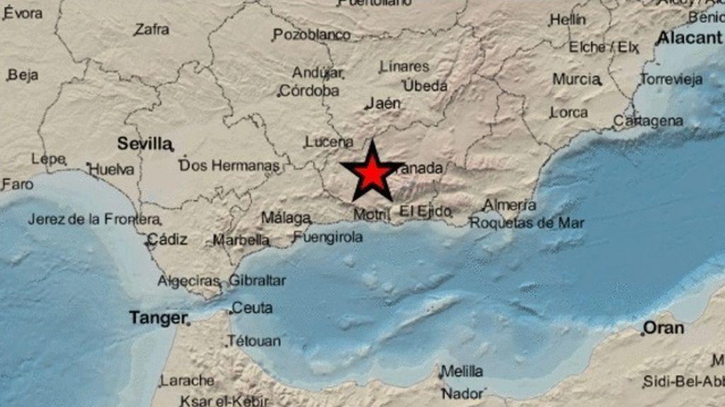 Nuevos terremotos de más de cuatro grados con epicentro en Santa Fe y Cúllar sacuden Granada