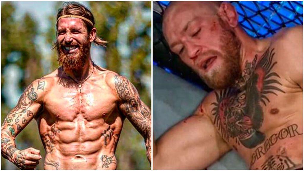 """Sergio Ramos se suelta con el inglés para apoyar a McGregor tras su paliza: """"Always Conor"""""""